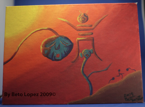 Doodle painting 2009