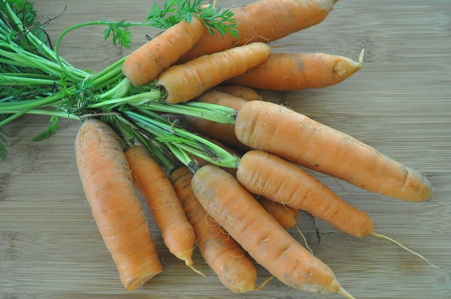 Farmers' Market Carrots