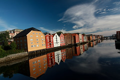 Trondheim at morning