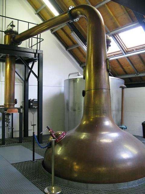 Isle of Arran distillery - wash still