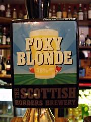 Scottish Borders, Foxy Blonde, Scotland