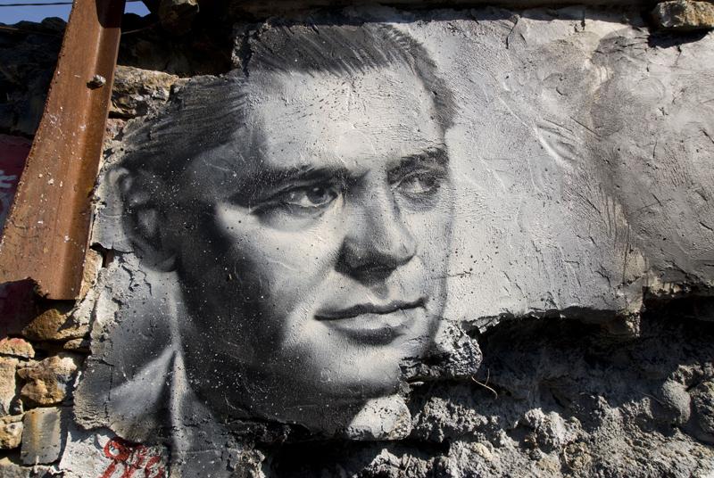 Portrait de Jean Moulin à la Demeure du Chaos près de Lyon - Photo de Thierry Ehrmann