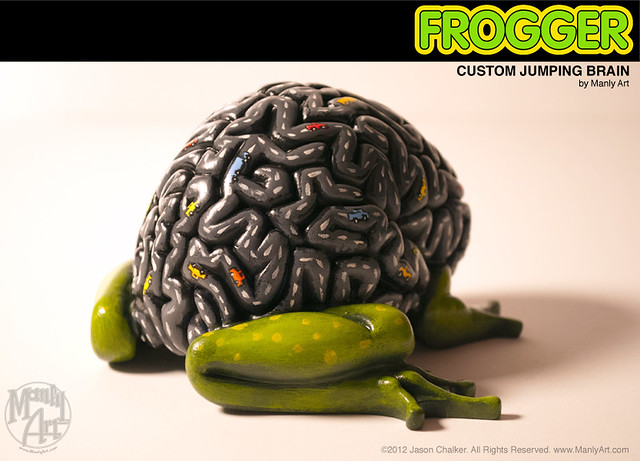 Jumping Brain Frogger