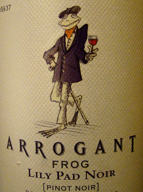 Le Arrogant Frog