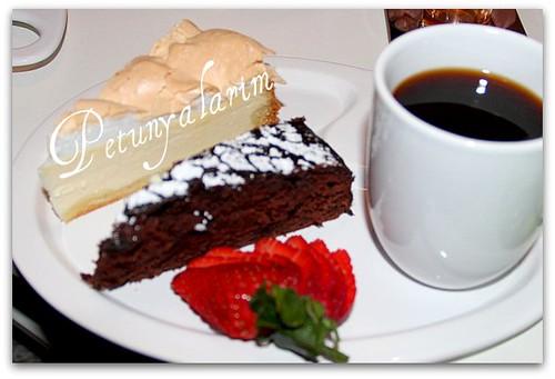 Schokoladenkuchen mit Roter Bete
