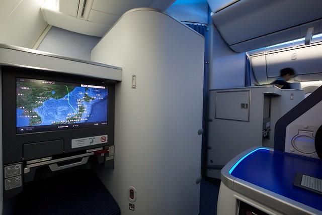 ANA JA805A Boeing 787-8 Dreamliner International Long-haul Configuration Seat 1A (C class)
