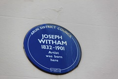 Photo of Joseph Witham blue plaque