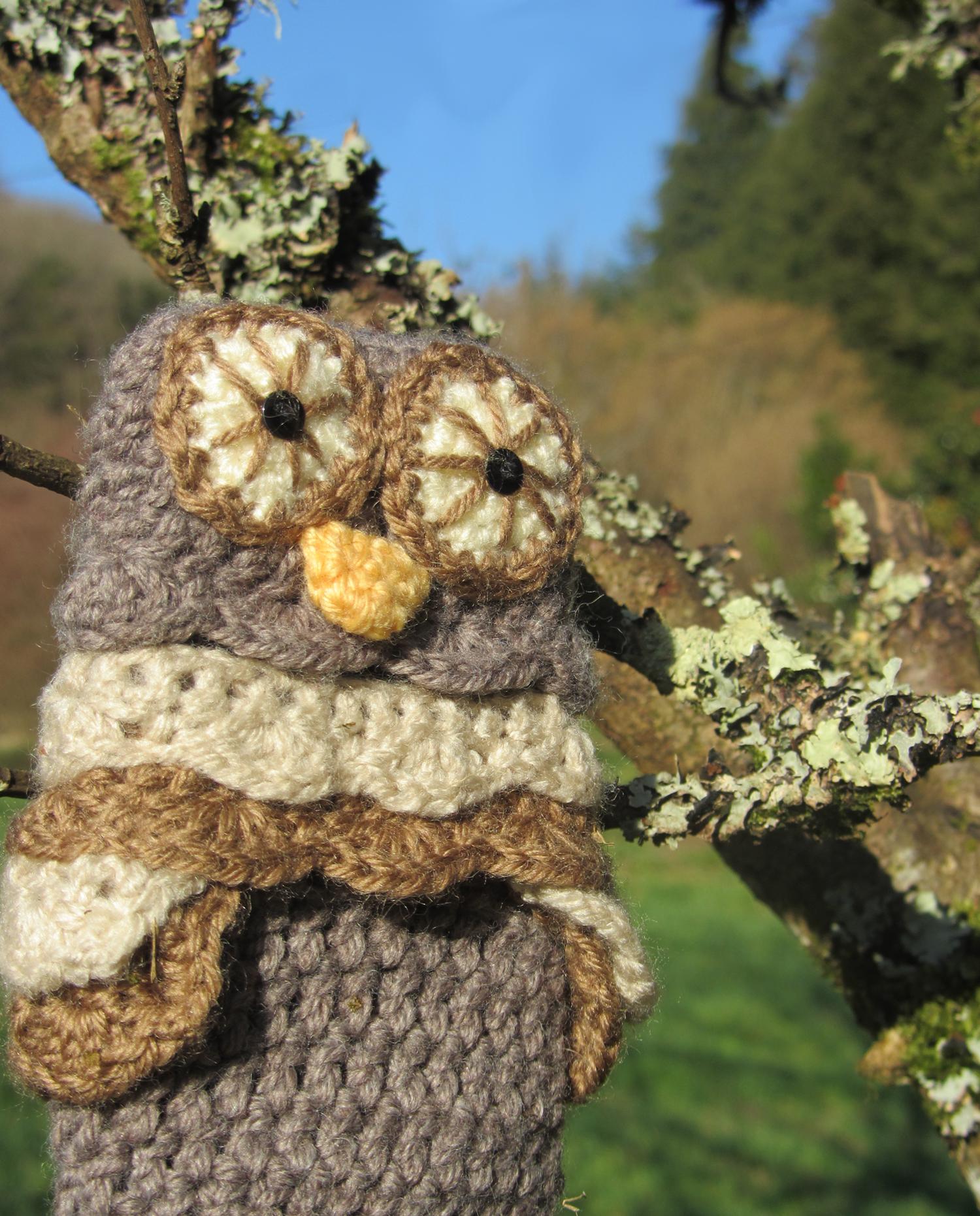 owl iphone case  - hibou laine étui téléphone