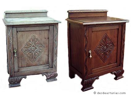 Restauraci n de muebles en asturias taller miravalles - Taller restauracion muebles ...