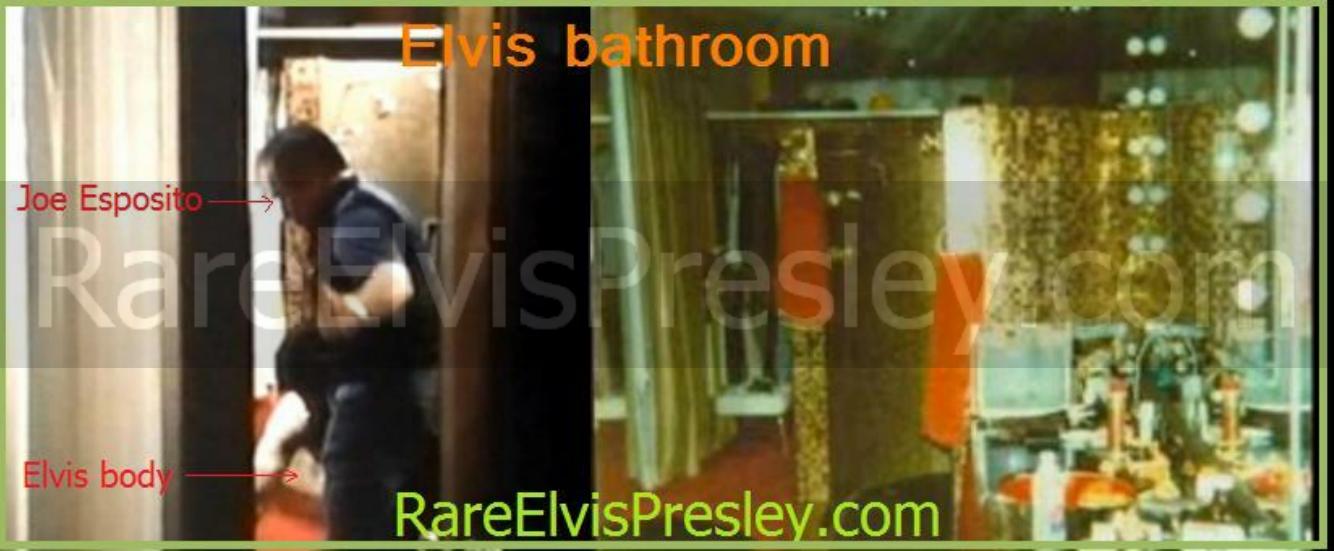 Bathroom where elvis died