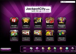 Jackpot City Casino Lobby
