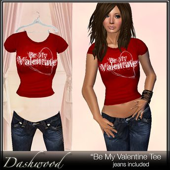 """Be My Valentine"" - Vday Tee Gift - T-shirt, 10 lindens by Cherokeeh Asteria"