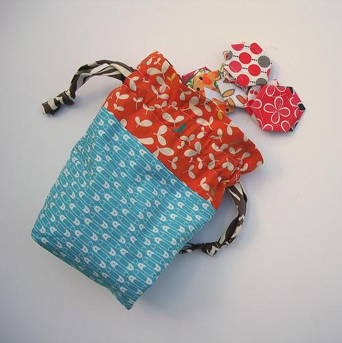 Drawstring Bag by jenniferworthen