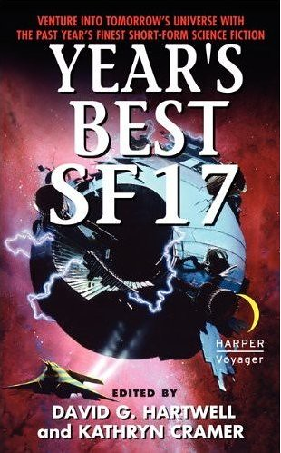 Year's Best SF 17 cover
