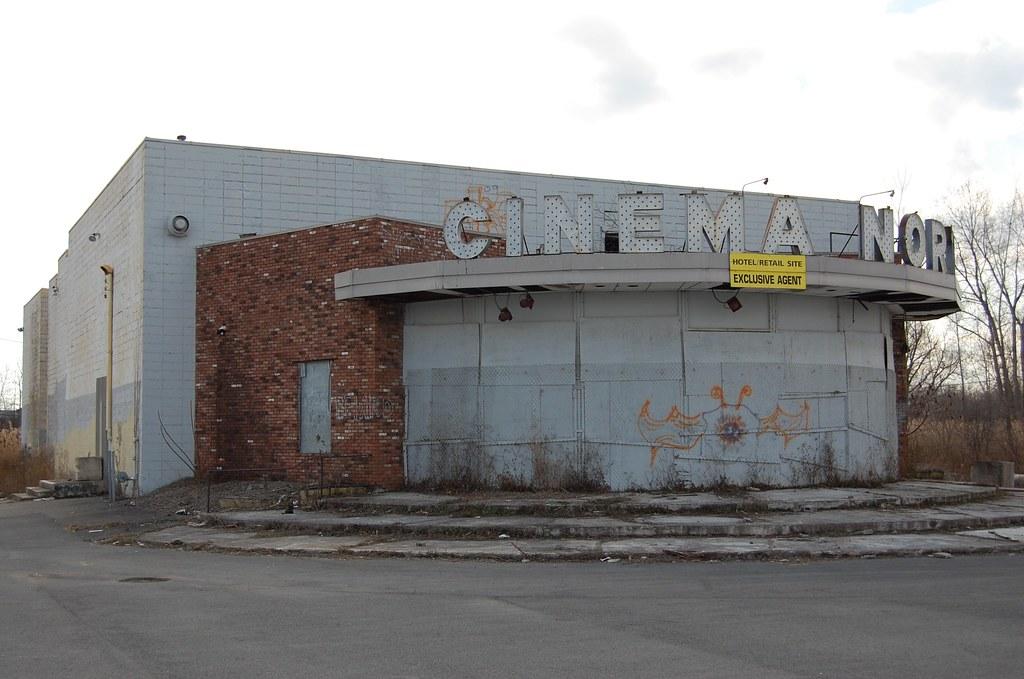 Abandoned Movie Theater - Mattydale