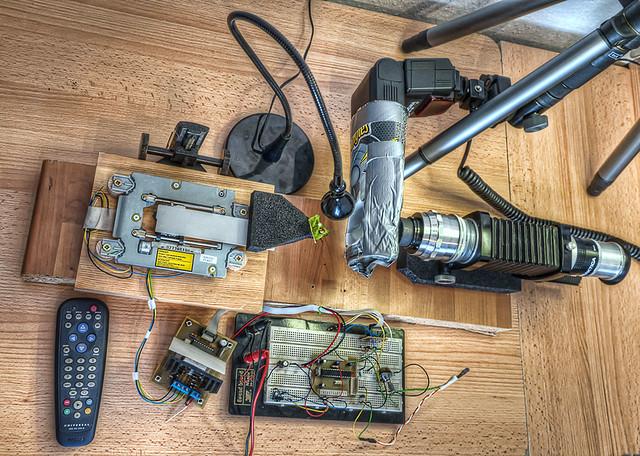 Automated Macro Stacking Setup 02.2012