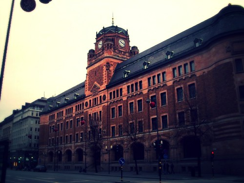 Post Office Building in Stockholm, Sweden by zannnielim