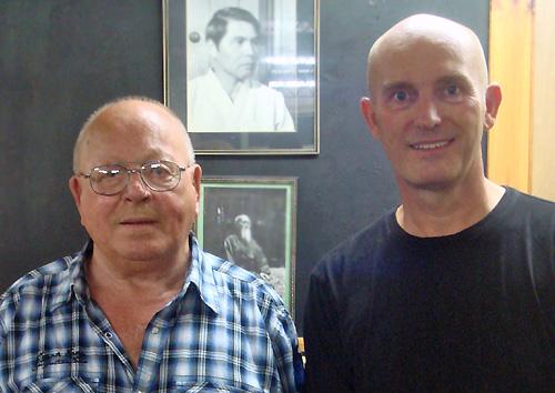Master Pat Stratford, 8th Dan & Michael Hancock