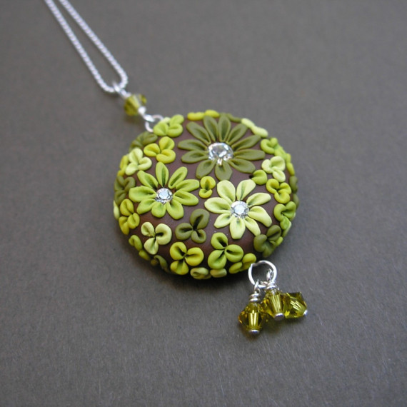 Polymer Clay Sculpted Jewelry | Flickr - Photo Sharing!