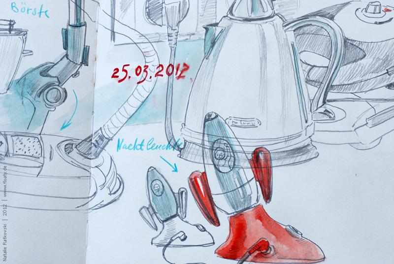 Home appliances, detail