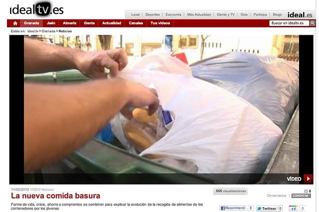 Reportaje Comida Basura
