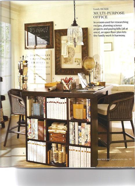 Pottery Barn Multipurpose Home Office desk