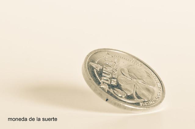 133/366: moneda de la suerte