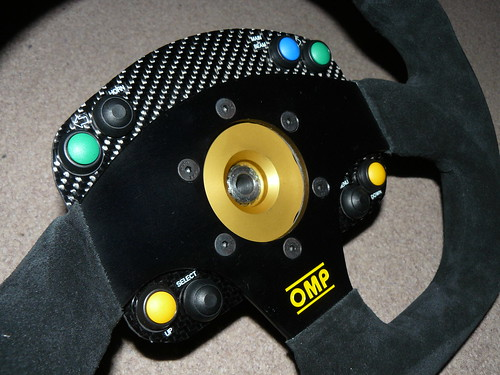 OMP Superquadro Steering Wheel