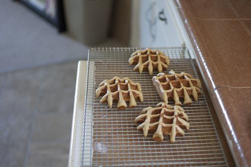 mishapen waffles