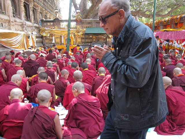 Tibetan Monks Praying