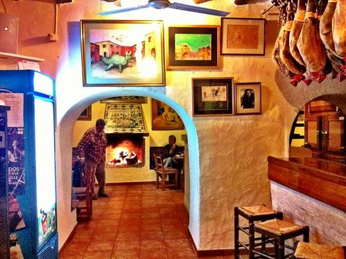 Santa Gertrudis de Fruitera Ibiza | Bar Costa | Interior