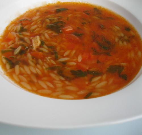 arpa şehriye çorbasıı