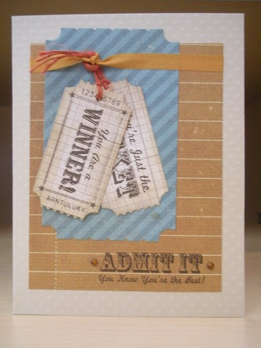 """Admit It"" Card"