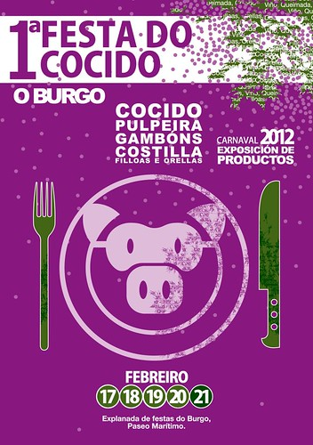 Culleredo 2012 - I Festa do cocido O Burgo - cartel