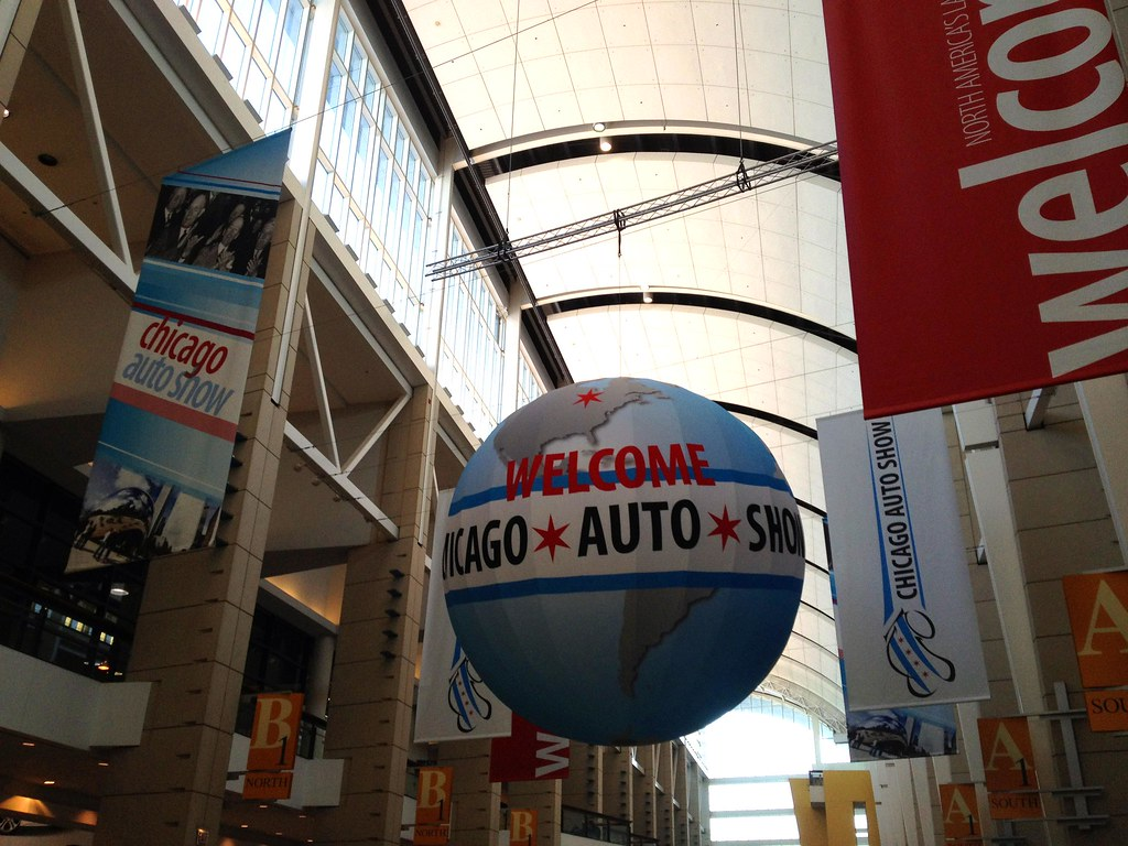 Chicago Auto Show - Windy City - See Highlights From Around Chicago, Illinois! (via Wading in Big Shoes)