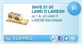 Land O Lakes Deli Cheese Coupon