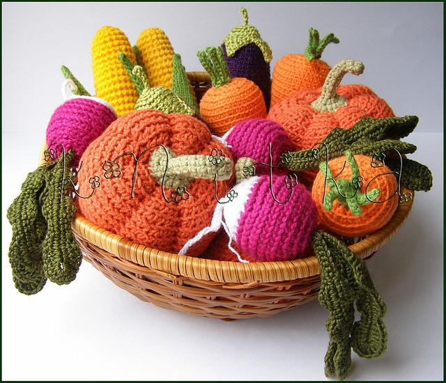 Crocheting Vegetables : crochet vegetables Flickr - Photo Sharing!