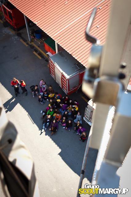 Chikai Visita El Parque Bomberos de Murcia