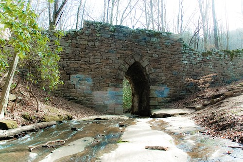 Poinsett Bridge from below