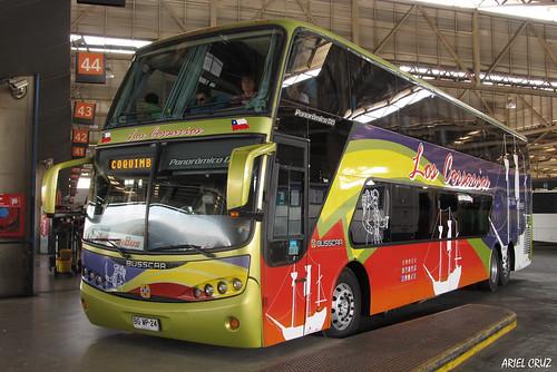 Pullman Los Corsarios (Pullman Bus) | Terminal San Borja | Busscar Panorâmico DD / BGWP24