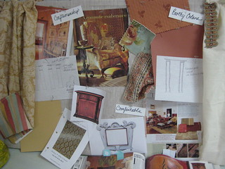 Mood board for a Tuscan Style Interior | by DesignFolly.com
