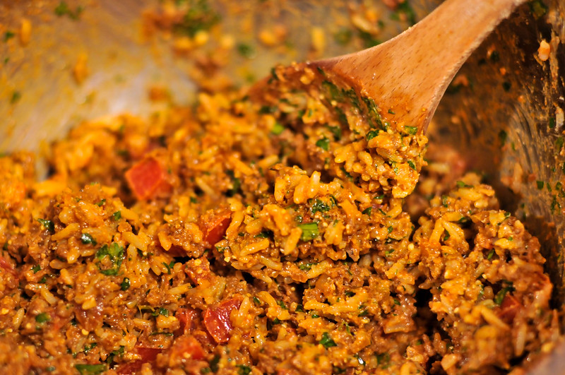 Chorizo Stuffed Poblanos