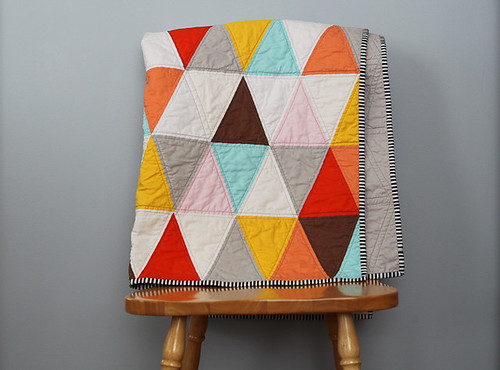 20120409 Triangle Quilt-3
