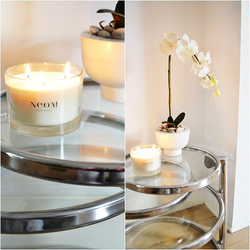 neom happiness home candle