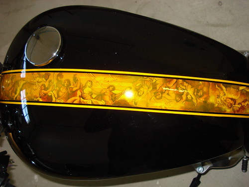 custom paint cost triumph forum triumph rat motorcycle forums. Black Bedroom Furniture Sets. Home Design Ideas