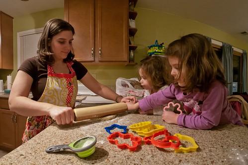 Prepping cookies
