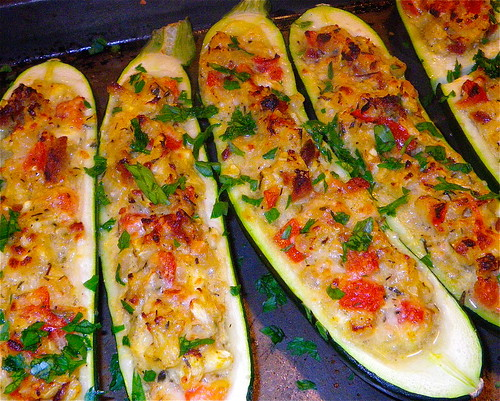 Stuffed Zucchini by annbumbly