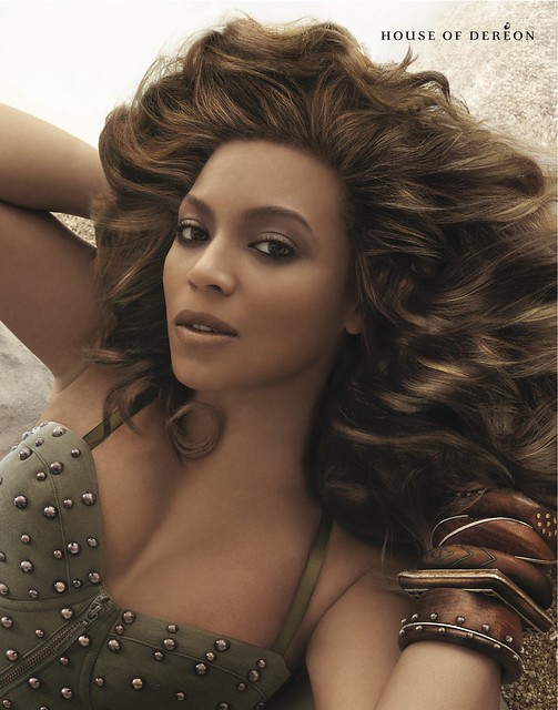 Beyonce's House Of Dereon Spring 2012 Campaign