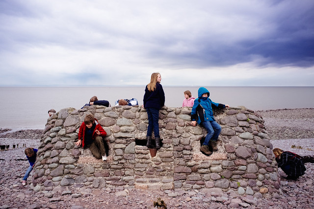 Photograph: [Untitled]; Porlock Weir, Exmoor, Somerset, April 2012. By Simon Holliday.