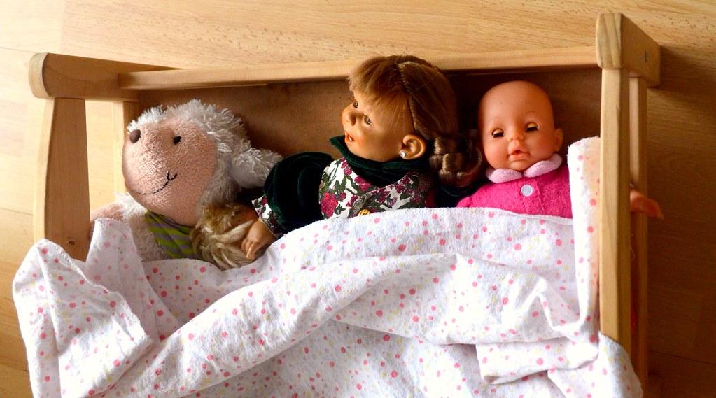 Die Puppenfamilie von meinem Kleinkind :)